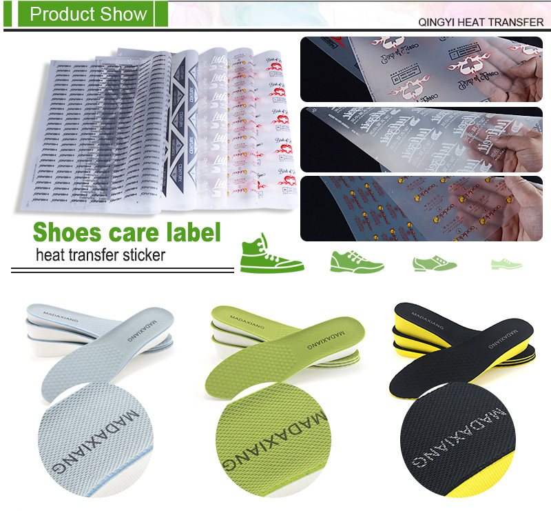 Shoes Care Label