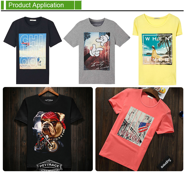 Plastisol Heat Transfer Stickers For T-shirt Manufacturers