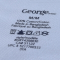 Sportswear care label heat transfer sticker