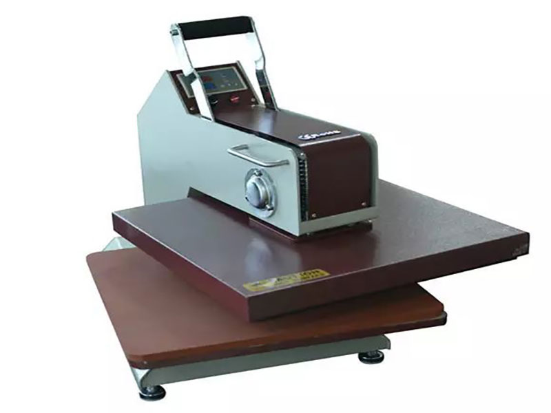 How to operate heat press machine to avoid error?